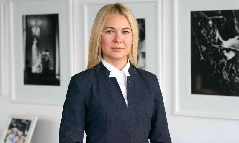 """Sandra Pavlova, """"Lewben"""" verslo mokesčių paslaugų vadovė."""