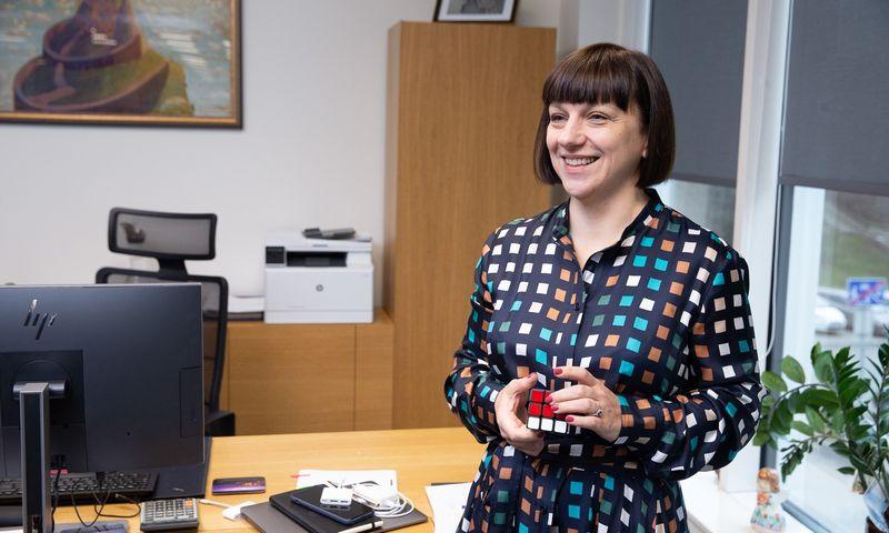 """Žana Kel, """"Integre Trans"""" savininkė ir vadovė. Vladimiro Ivanovo (VŽ) nuotr."""