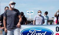 """100 metų automobilius Brazilijoje gaminęs """"Ford"""" traukiasi sudegindamas 12 mlrd. USD"""