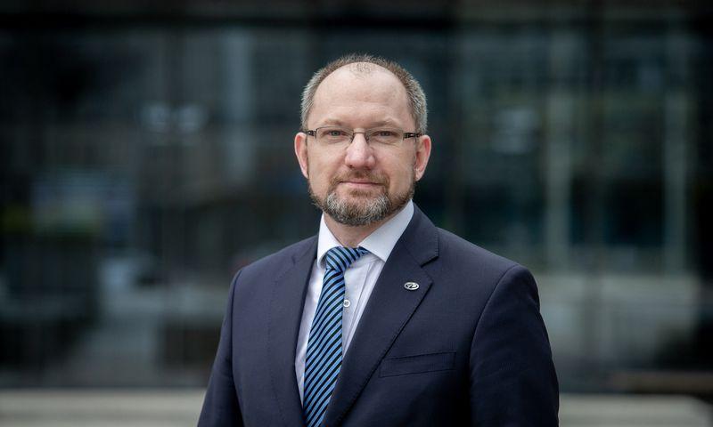 """Kęstutis Motiejūnas, UAB """"Investicijų ir verslo garantijos"""" (Invega) generalinis direktorius. Juditos Grigelytės (VŽ) nuotr."""