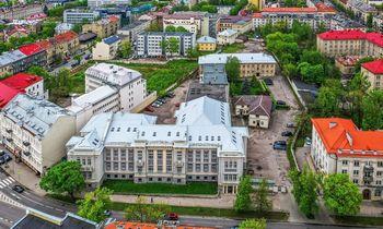 VILNIUS TECH atsinaujina: parduodami pastatai Naujamiestyje ir Senamiestyje, o vietoj jų kyla nauji Saulėtekyje
