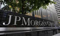 JAV bankų grynasis pelnas pirmąjį metų ketvirtį išaugo 29%, per metus - 4,2 karto