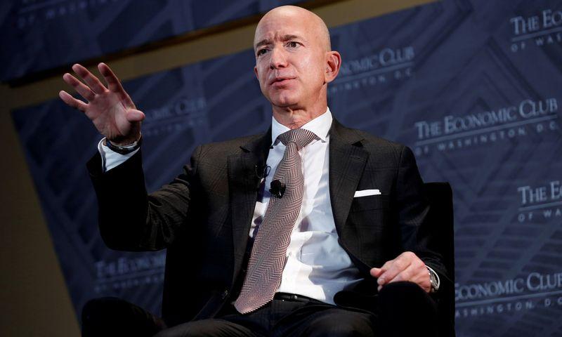 "Jeff Bezosas, ""Amazon"" įkūrėjas. Joshua Robert (""File Photo""/ ""Reuters""/ ""Scanpix"" nuotr.)"
