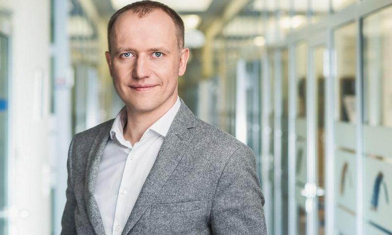 """""""Blue Bridge"""" Tinklų ir saugumo sprendimų skyriaus vadovas Povilas Kaminskas."""