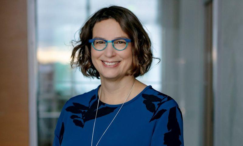 """Salla Ahonen, """"Neste"""" viceprezidentė, atsakinga už tvarumą."""