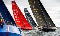 """Jachta """"Ambersail-2"""" pradeda kovą """"The Ocean Race Europe"""" varžybose"""
