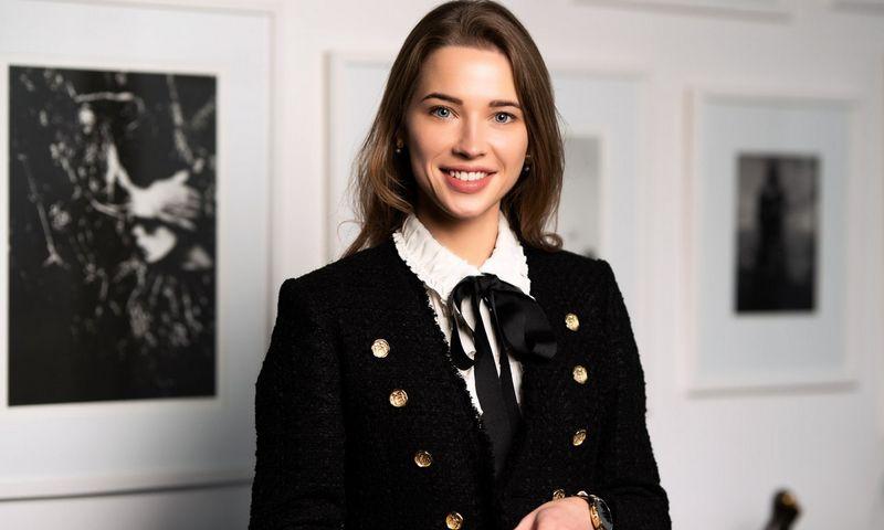 """Ieva Bakutienė,""""Lewben"""" licencijavimo paslaugų vadovė."""