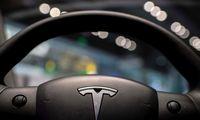"""E. Muskas: """"Tesla"""" brangsta dėl įtampos tiekimo grandinėse"""