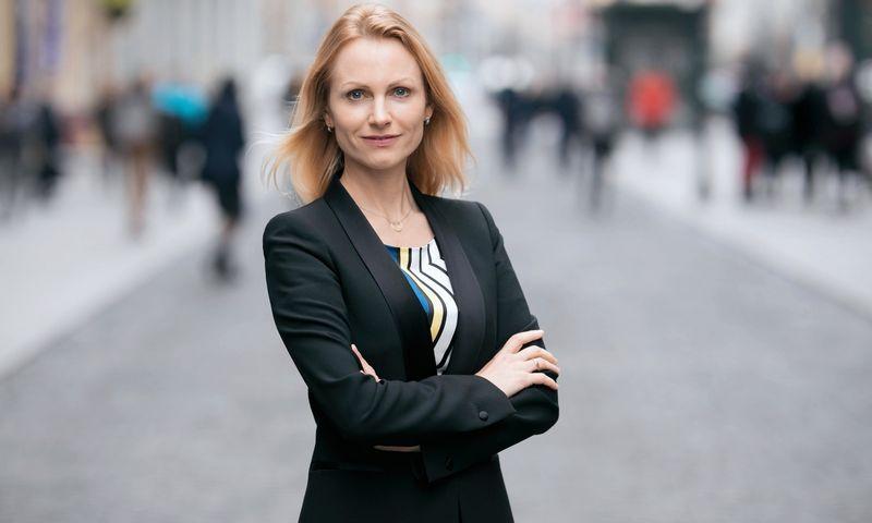 """Kristinė Jarvė, """"Deloitte"""" Baltijos šalių vadovaujančioji partnerė. Bendrovės nuotr."""