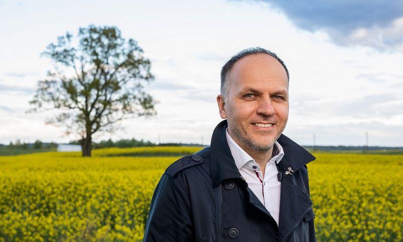 """Laimonas Belickas, buvusio """"UniCredit Leasing"""" Lietuvoje steigėjas ir ilgametis vadovas. Įmonės nuotr."""
