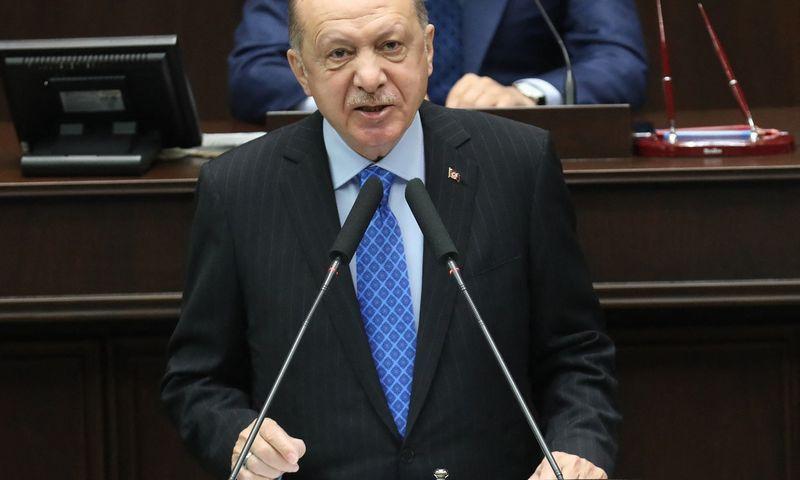 "Recepas Tayyipas Erdoganas, Turkijos prezidentas. Ademo Altano (AFP / ""Scanpix"") nuotr.)"