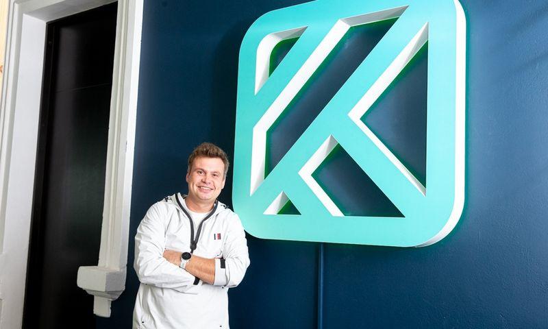 """Tadas Burgaila, sveikatingumo startuolio """"Kilo Health"""" bendraįkūrėjas ir vadovas. Juditos Grigelytės (VŽ) nuotr."""