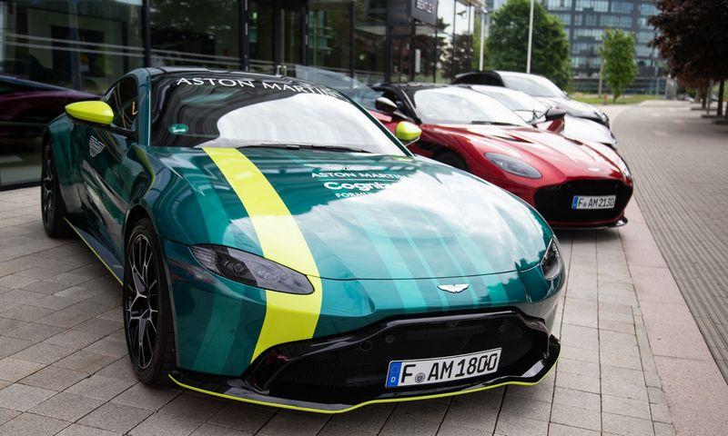 """Vilniuje atidaryta """"Aston Martin"""" atstovybė. Vladimiro Ivanovo (VŽ) nuotr."""