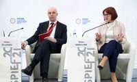 Rusijos finansų institucijų vadovai įspėja dėl infliacijos