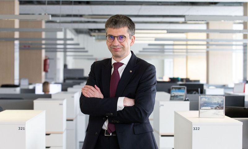 "Edvardas Liachovičius, UAB ""Girteka Logistics"" vadovas. Juditos Grigelytės (VŽ) nuotr."