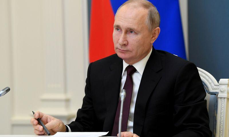 """Vladimiras Putinas. Aleksejaus Nikolsky (""""Spunik"""" / """"Scanpix"""") nuotr."""