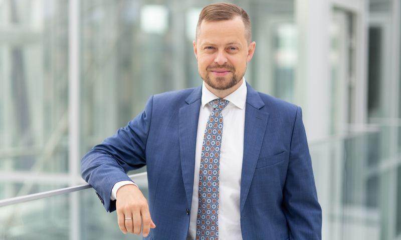"""Dominykas Tučkus, """"Ignitis grupės"""" Bendrovės valdybos narys ir Infrastruktūros bei plėtros direktorius. Bendrovės nuotr."""