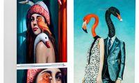 Fantazijos reikalas: menas įmanomas ir ant šaldytuvo