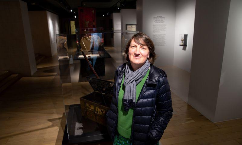 Rasa Antanavičiūtė, Vilniaus muziejaus direktorė. Juditos Grigelytės (VŽ) nuotr.