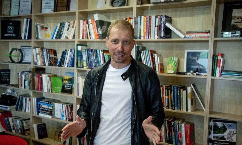 """Andrius Baranauskas, pasitraukęs iš """"Tele2"""" korporacinės komunikacijos direktoriaus Baltijos šalims pareigų, įsteigė reputacijos agentūrą """"Winning"""". Vladimiro Ivanovo (VŽ) nuotr."""
