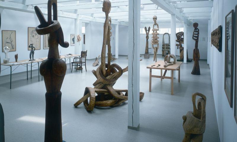 """Antano Mončio namuose-muziejuje, Palanga. """"lithuania.travel"""" nuotr."""