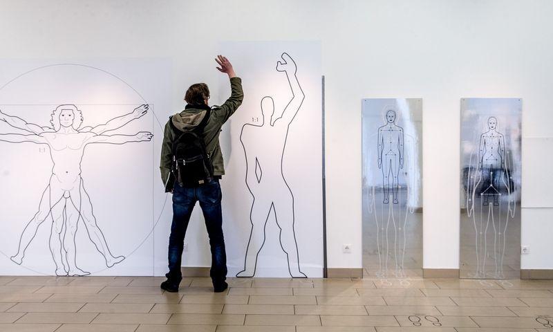 """Iš VDA meno doktorantų paroda """"Mokslas ir gyvenimas"""", 2018 m. Vladimiro Ivanovo (VŽ) nuotr."""