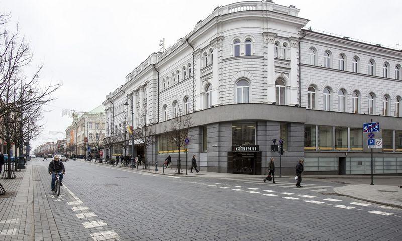Vilniaus centrinio pašto pastatas. Vladimiro Ivanovo (VŽ) nuotr.