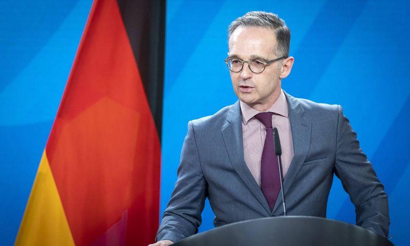 """Heiko Maasas, Vokietijos užsienio reikalų ministras. """"Scanpix"""" nuotr."""