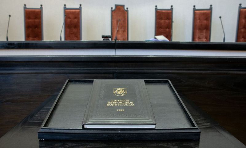 Konstitucinis teismas panaikins Vyriausybės sprendimą, kuriuo įtvirtinamas MMA koeficiento pakeitimas. Juditos Grigelytės (VŽ) nuotr.