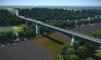 """Paskelbtas naujas konkursas """"Rail Balticos"""" tilto per Nerį statyboms"""