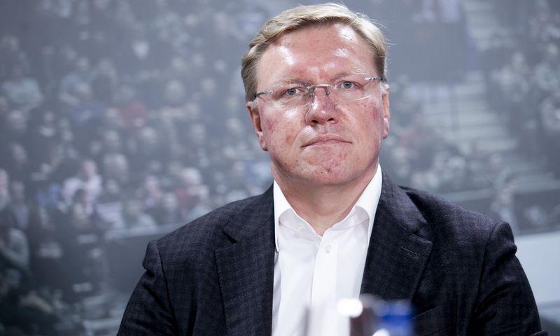 """Vytas Volkevičius, """"Hoptransos"""" akcininkas. Luko Balandžio (15min.lt / """"Scanpix"""") nuotr."""