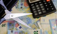 Euro zonos BVP nuosmukio pirmąjį ketvirtį įvertis sumažintas iki 0,3%