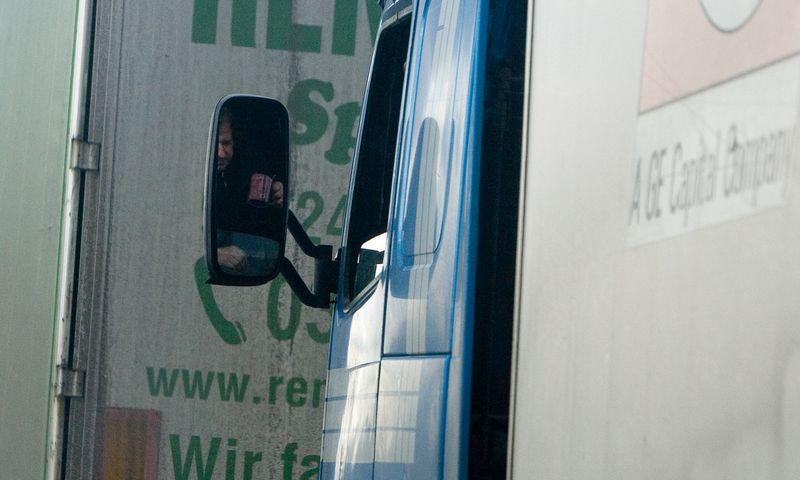 Šalyje bus ieškoma potencialių vilkikų vairuotojų. Juditos Grigelytės (VŽ) nuotr.