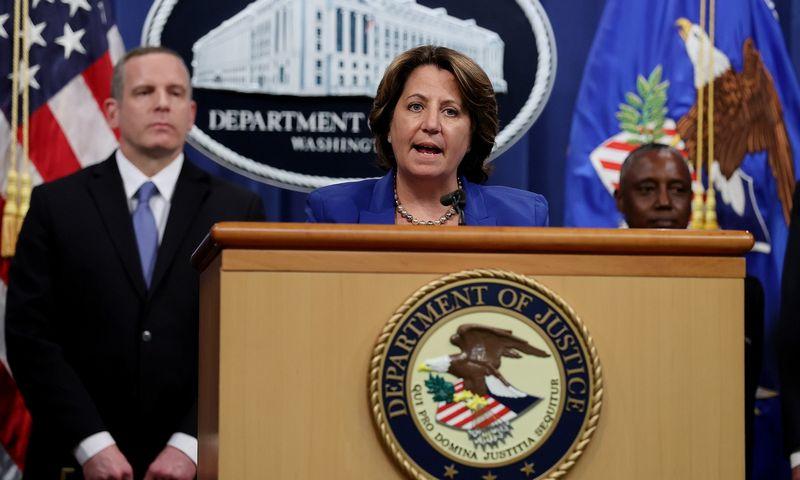 """JAV generalinės prokuroro pavaduotoja Lisa Monaco. Jonathano Ernsto (""""Reuters"""" / """"Scanpix"""") nuotr."""