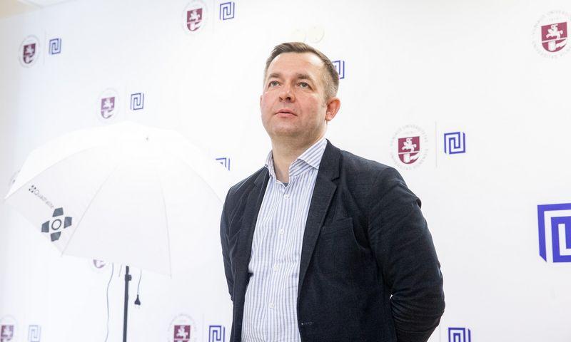 Ramūnas Vilpišauskas, Vilniaus universiteto Tarptautinių santykių ir politikos mokslų instituto profesorius. Juditos Grigelytės (VŽ) nuotr.