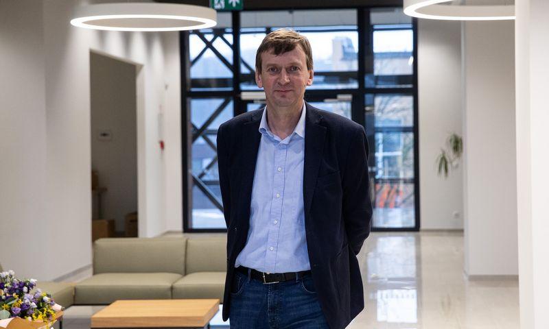 """Dainius Dundulis, UAB """"Rivona"""" generalinis direktorius ir UAB """"Norfos mažmena"""" valdybos pirmininkas. Vladimiro Ivanovo (VŽ) nuotr."""