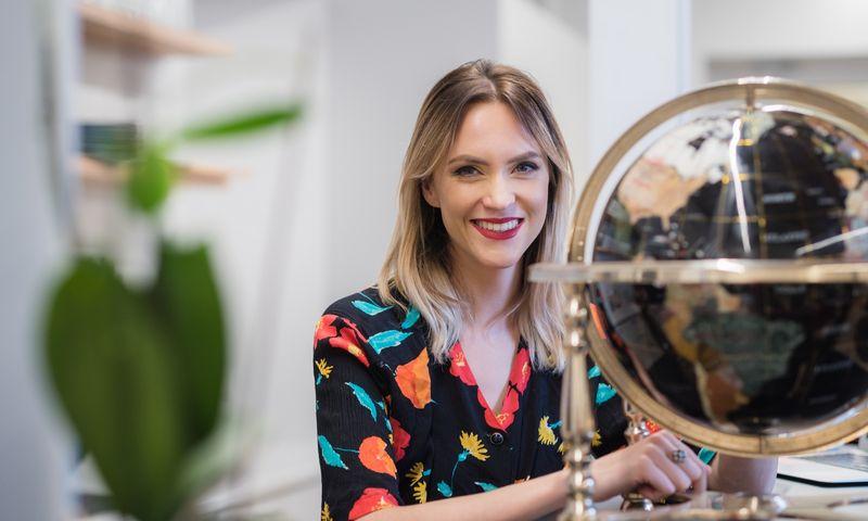 """Ada Jonušė, viena iš """"Startup Tribe"""" iniciatorių, startuolio """"Lympo"""" bendraįkūrėja. Įmonės nuotr."""