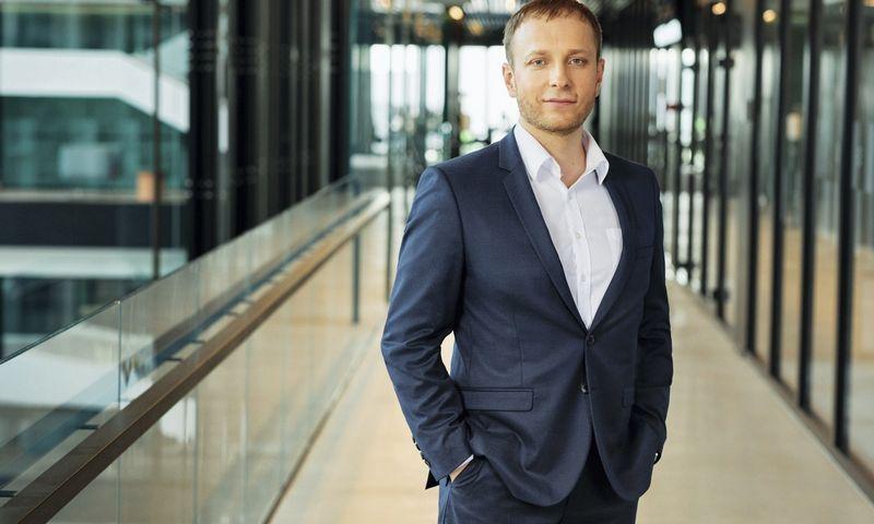 """Giedrius Jasonas, telekomunikacijų bendrovės """"Telia Lietuva"""" verslo produktų ir kainodaros vadovas (BENDROVĖS NUOTR.) """"Siekiame, kad visos mūsų duomenų centro paslaugos būtų teikiamos maksimaliai patikimai, efektyviai, bet naudojant ir kuo mažiau energetinių resursų""""."""