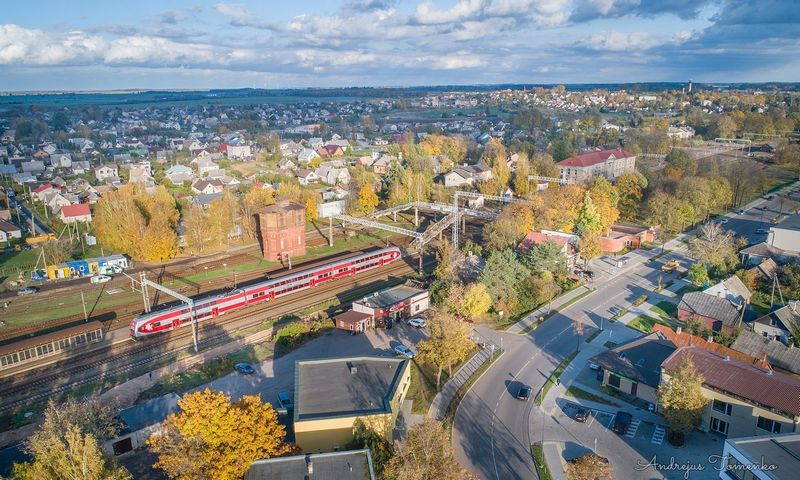 """Neabejojama, kad """"Rail Baltica"""" padarys didelę įtaką Kaišiadorims. Andrejaus Tomenko nuotr."""