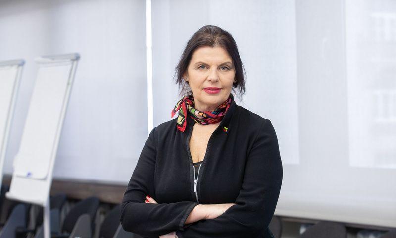 Rūta Bilkštytė, finansų viceministrė. Juditos Grigelytės (VŽ) nuotr.