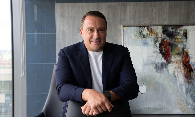 """Jonas Garbaravičius, """"JG Investment Management"""" savininkas, """"Inter RAO Lietuva"""" akcininkas ir stebėtojų tarybos narys. Vladimiro Ivanovo (VŽ) nuotr."""