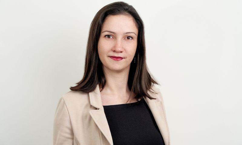 """Jevgenija Ešvovičiūtė, UAB """"Office System"""" personalo ir administracijos vadovė. Bendrovės nuotr."""