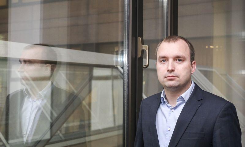 Paulius Rudzkis, laikinasis Registrų centro Duomenų sprendimų ir analizės departamento vadovas. Bendrovės nuotr.