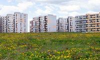 Statistikos departamentas: butų fondas pernai ūgtelėjo 0,7%, namų - 1,9%