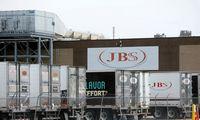 Mėsos perdirbimo milžinė JBS programišiams sumokėjo 11 mln. USD išpirką