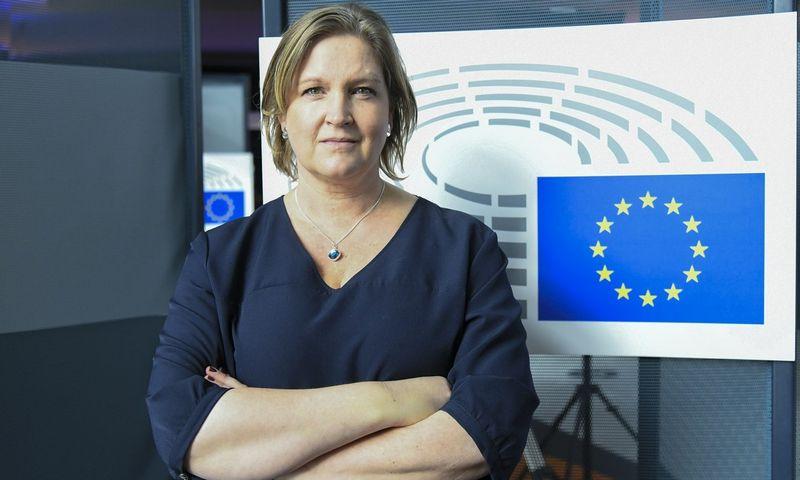 Europos Parlamento Tarptautinės prekybos komiteto nuomonės pranešėja Karin Karlsbro.