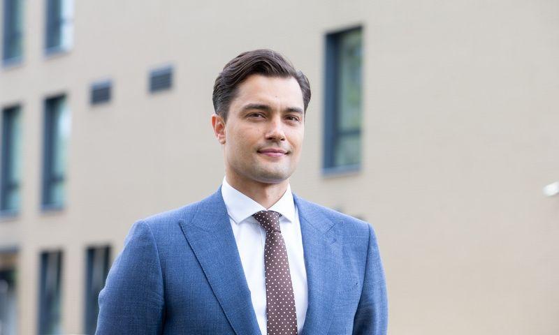 """Ernestas Kazbaras, UAB """"I Asset Management"""" direktorius. Juditos Grigelytės (VŽ) nuotr."""