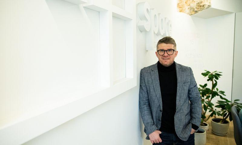 """Šarūnas Sakalauskas, """"Httpool Lithuania"""" """"LinkedIn"""" partneris, vadovas. Vladimiro Ivanovo (VŽ) nuotr."""
