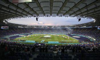 Europos futbolo čempionatas: Italija-Turkija 3-0