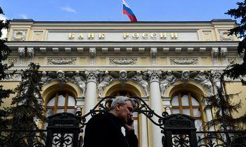Rusijoje bazinė palūkanų norma padidinta iki 5,5%, rublis stiprėja